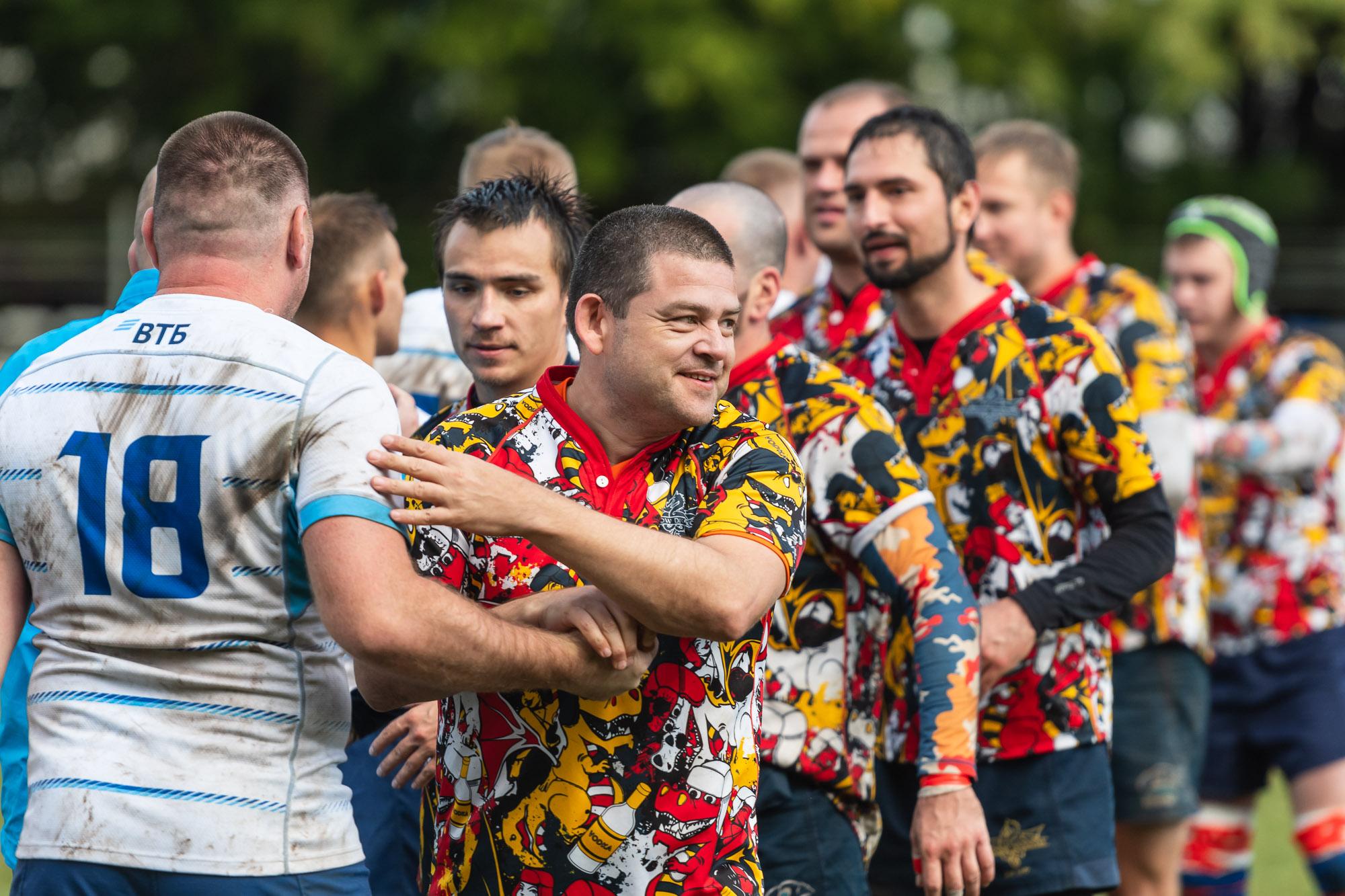«Московские драконы» стали победителем группового этапа Чемпионата регбийной лиги «Трудовые резервы» в Первом дивизионе!