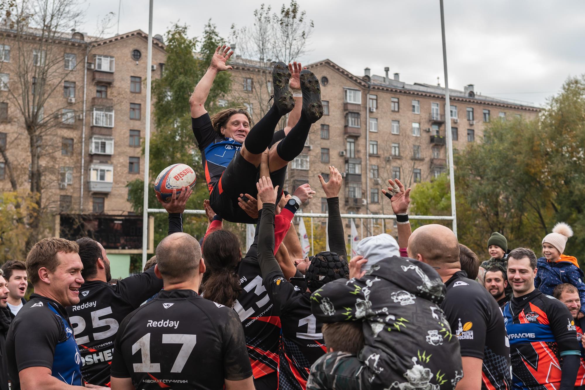 Первый сезон Регбийной лиги «Трудовые Резервы» подходит к завершению.  В субботу – главный финал.