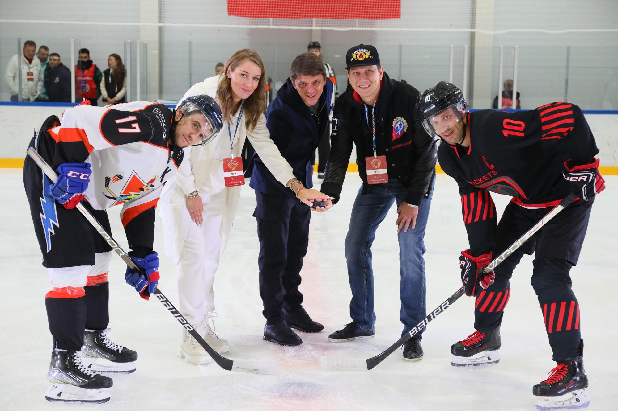 В Москве состоялась церемония открытия Хоккейной Лиги «Трудовые Резервы»